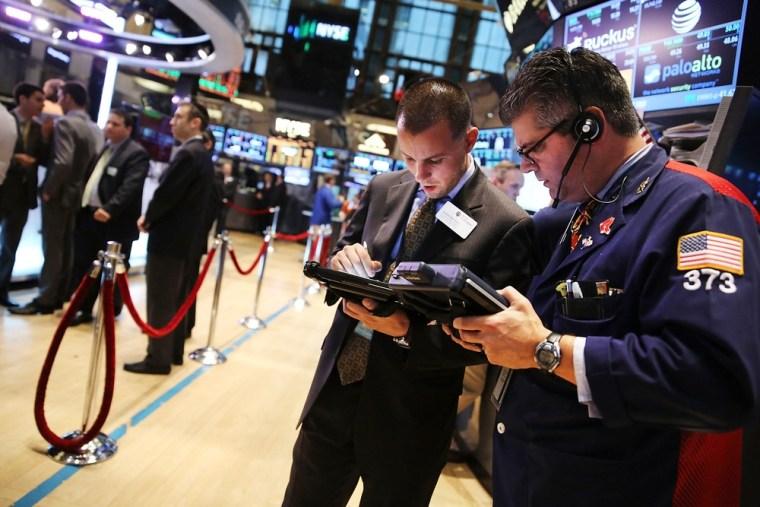 Stocks end slightly higher after tepid jobs report