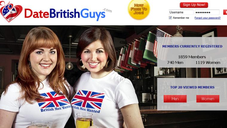 British men dating site