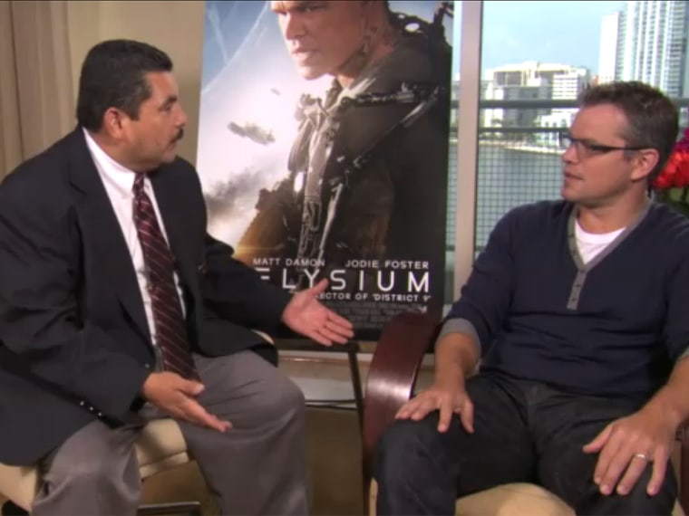 Matt Damon, Guillermo Rodriguez