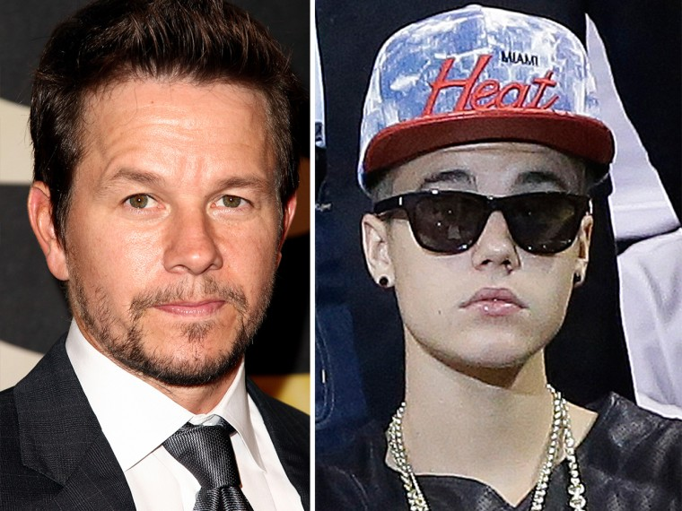 Mark Wahlberg to Justin Bieber: Pull up your pants, stop smoking weed