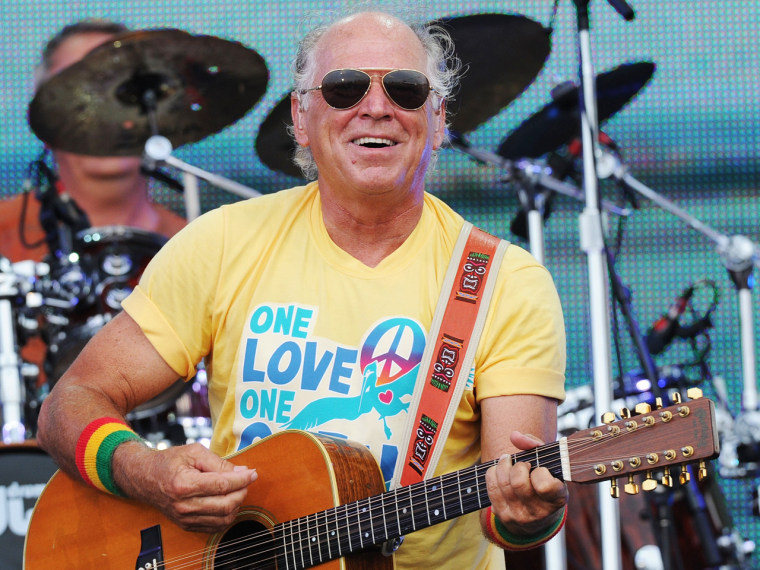 Musician Jimmy Buffett will turn the plaza into a big beach party when he performs on August 15.