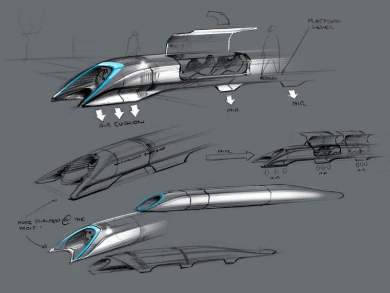 Hyperloop revealed: Elon Musk foresees rapid transit in a tube