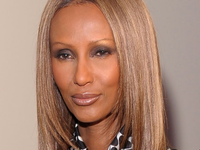 """Supermodel Iman said there's """"something terribly wrong"""" with the lack of diversity of the Fashion Week runways."""