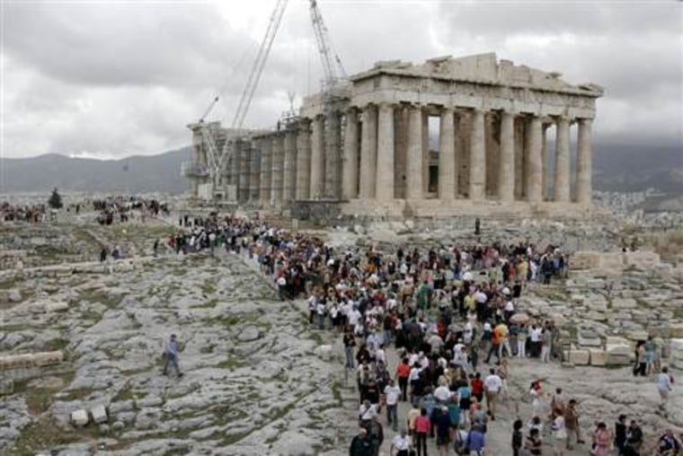 Downfall of ancient Greece blamed on 300-year drought