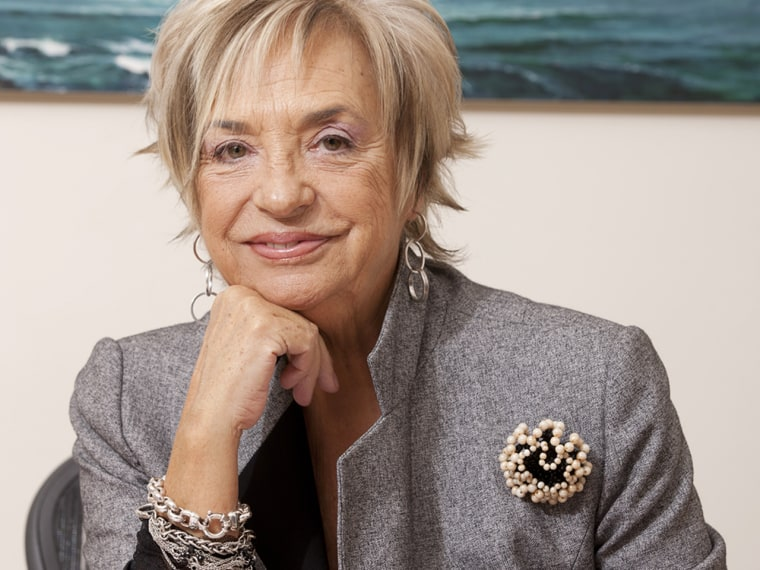 FILE - August 16, 2013:  Rosalia Mera, co-founder of Spanish brand Zara, died yesterday aged 69 following a brain hemorrhage whilst on holiday in Meno...