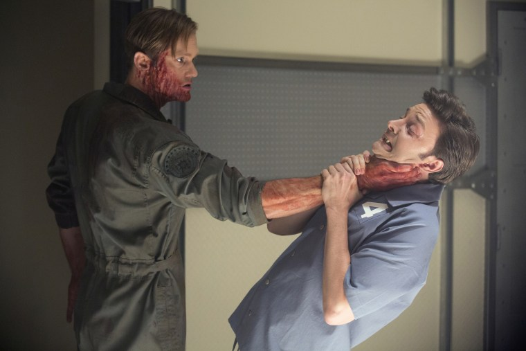 "Image: Alexander Skarsgard and Michael McMillian in ""True Blood."""