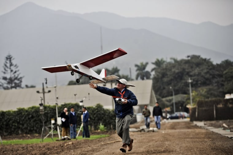 Drones take to the air for archaeology in Peru