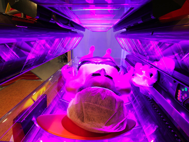 Pasty versus crispy: Too many high school girls use tanning booths