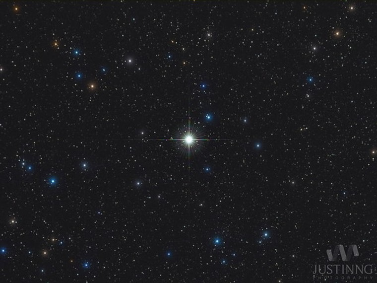 New star explosion in night sky can be seen with naked eye