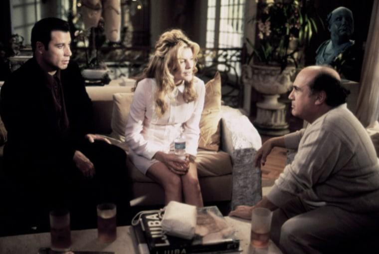 GET SHORTY, John Travolta, Rene Russo, Danny De Vito, 1995