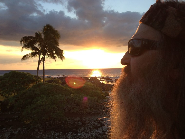 """Phil Robertson of """"Duck Dynasty"""" in Hawaii."""