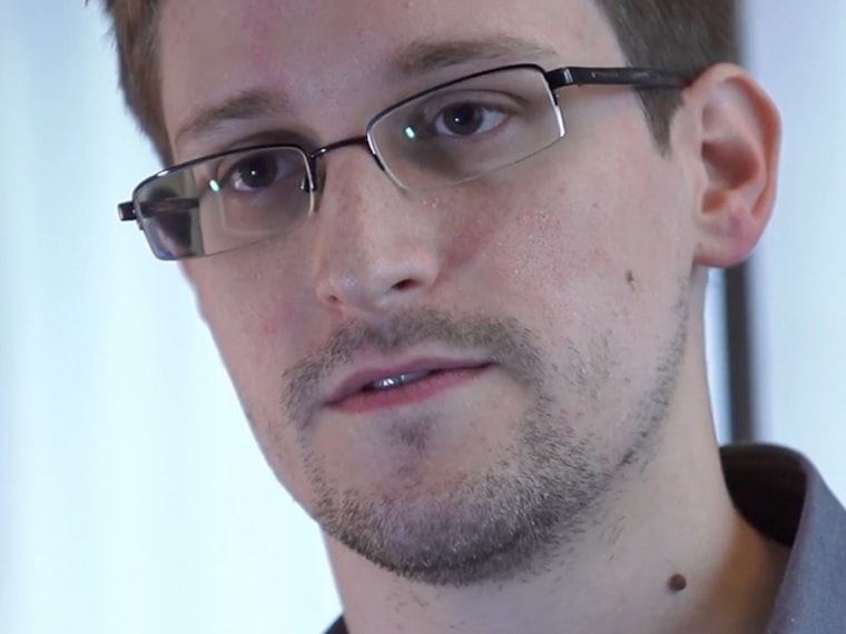 HONG KONG - 2013: In this handout photo provided by The Guardian, Edward Snowden speaks during an interview in Hong Kong. Snowden, a 29-year-old former technical assistant for the CIA, revealed details of top-secret surveillance conducted by the United States' National Security Agency regarding telecom data.