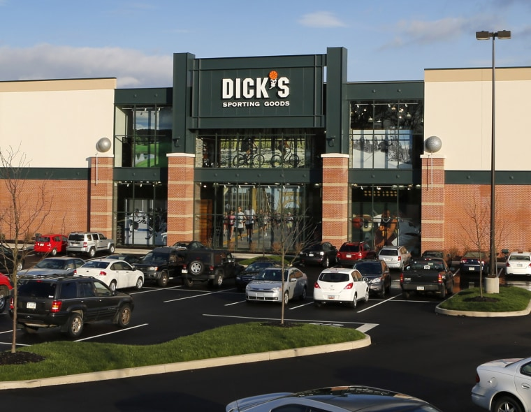 A Dick's Sporting Goods store in Cranberry, Pa.