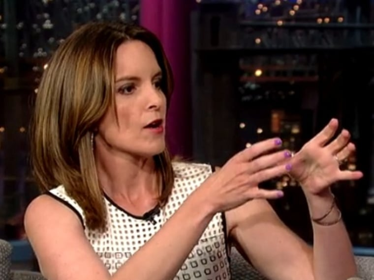 Tina Fey thinks her 2-year-old daughter 'might be a sociopath'
