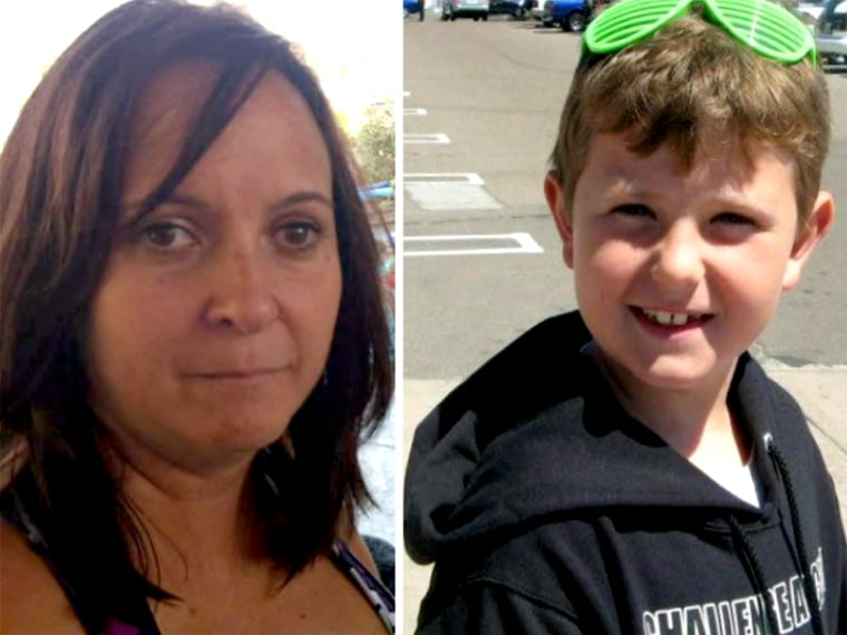 Hannah Anderson's mother, Christina, left, and brother, Ethan.