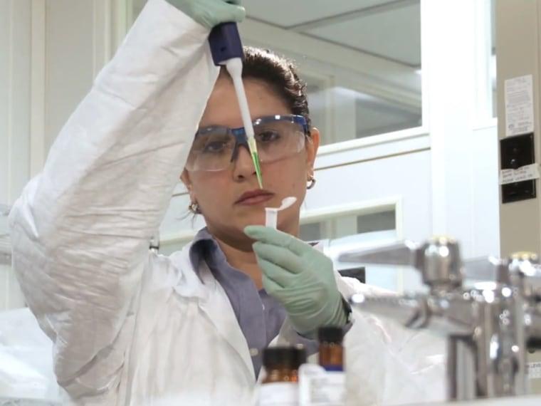 Image: Lab work