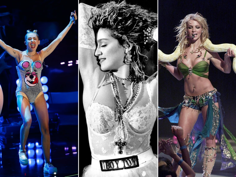 Image: Miley Cyrus, Madonna, Britney Spears