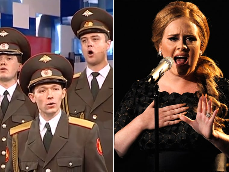 From Russia, with song? Army chorus covers Adele's 'Skyfall'