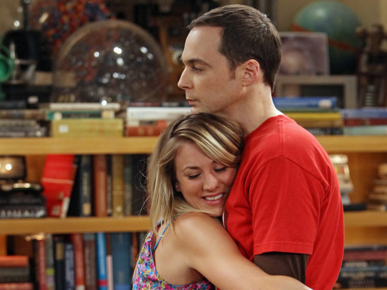 Penny and Sheldon get too close when 'Big Bang Theory' returns