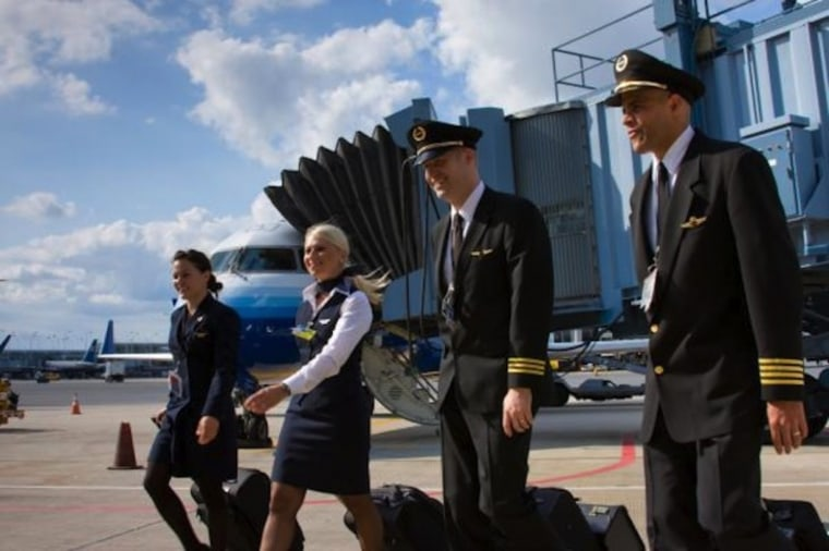 This just doesn't fly: Some airline pilots barely make living wage