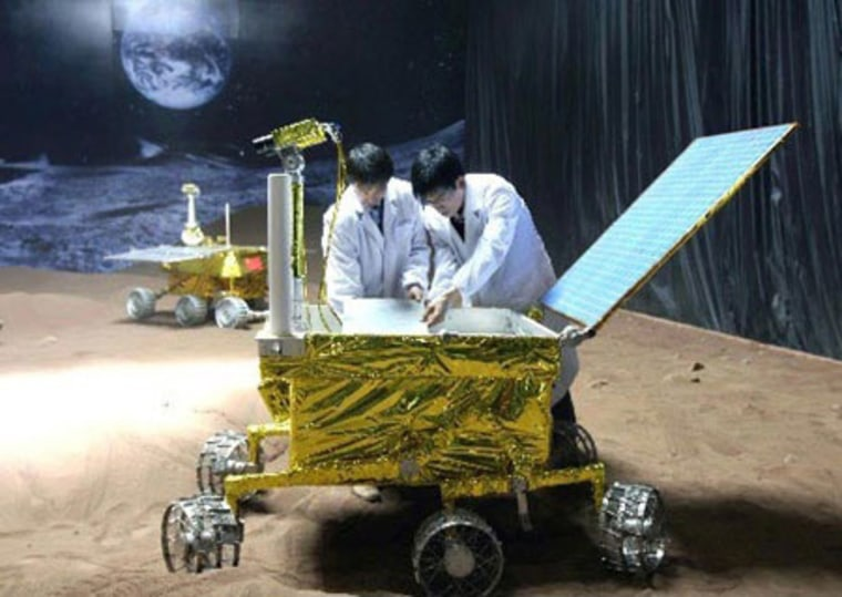 China gets set to launch its first moon lander by year's end