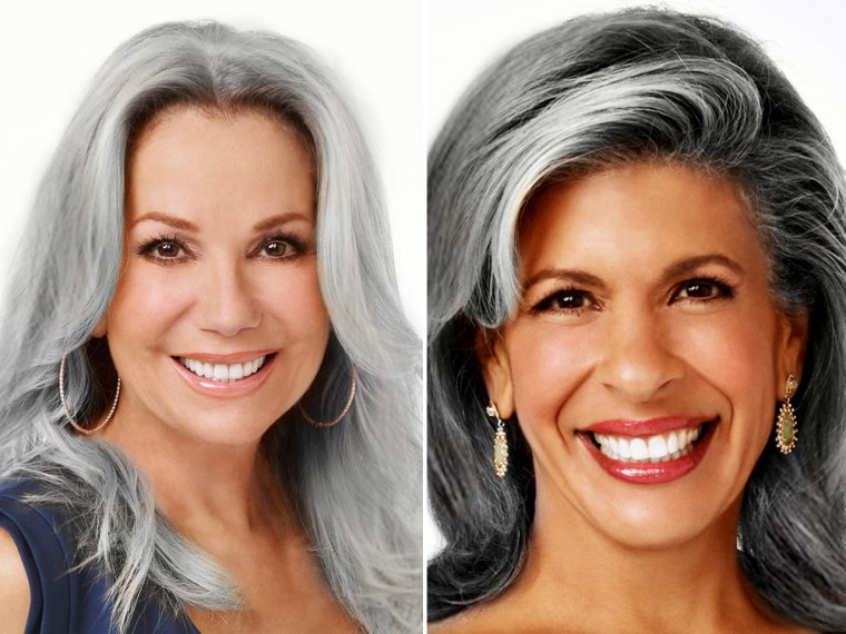 KLG, Hoda imagine: What if we embraced our gray hair?