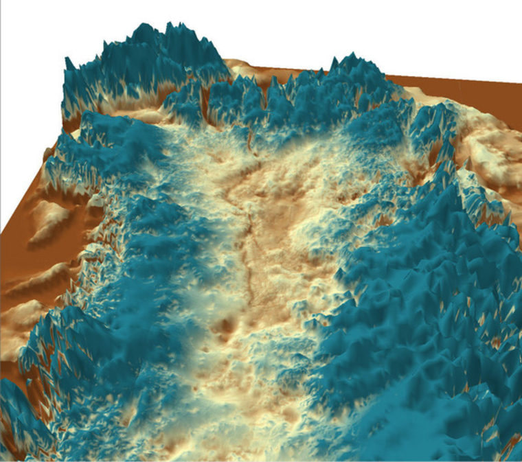 'Grand Canyon of Greenland' discovered under ice sheet