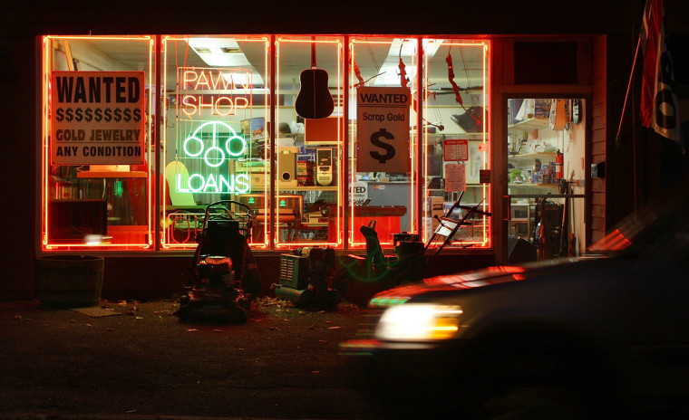 Poorer people make bad decisions, such as using pawn shops to raise cash, according to the study