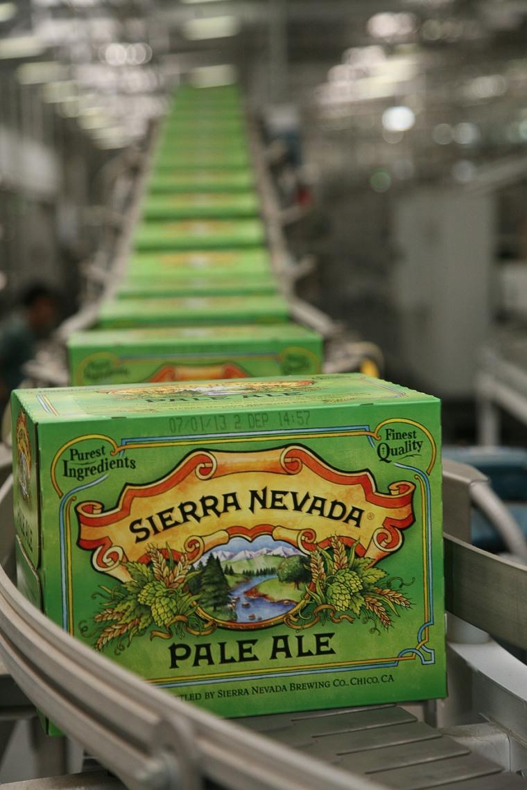 Image of Sierra Nevada packaging line