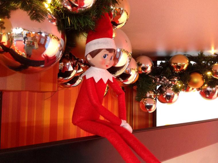 TODAY's Elf on the Shelf