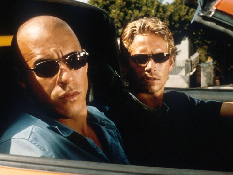 IMAGE: Paul Walker and Vin Diesel