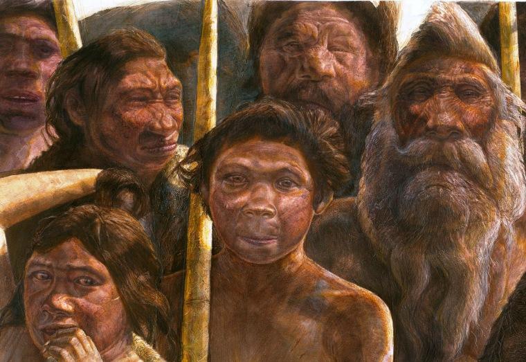 Image: Sima de los Huesos people