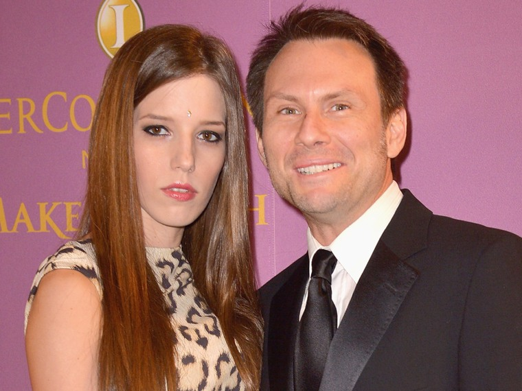 IMAGE: Brittany Lopez and Christian Slater