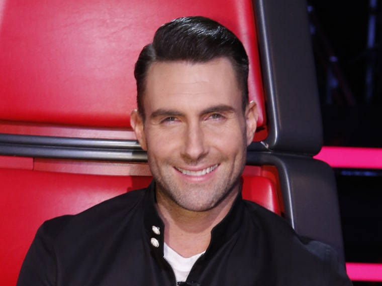 Image: Adam Levine on The Voice