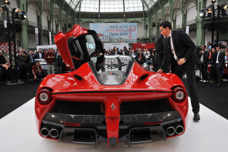 LaFerrari is fastest, most expensive and totally sold out