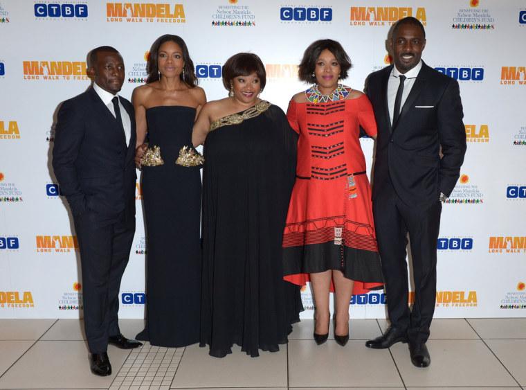 IMAGE: Mandela movie premiere