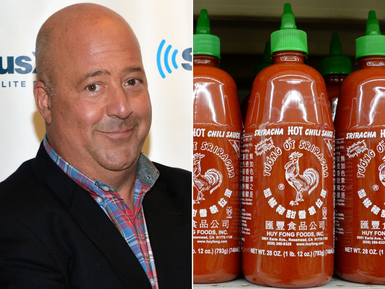Andrew Zimmern says there are many better hot sauces than Sriracha.