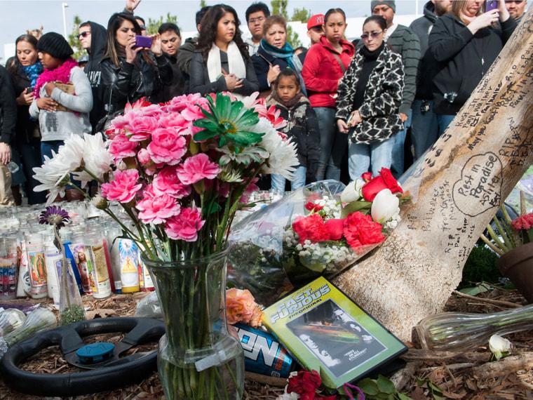 Image: Paul Walker memorial