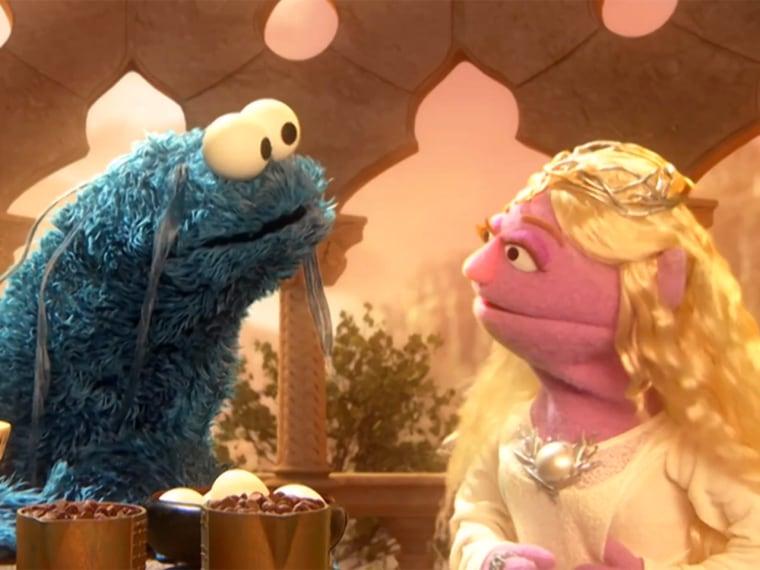 IMAGE: Sesame Street spoof