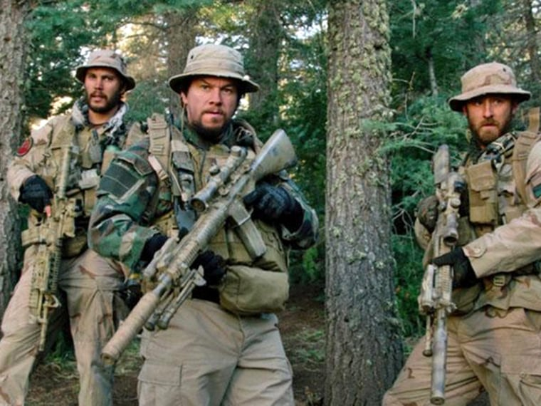 """Marcus Luttrell's story is brought to the screen in the film adaptation of his memoir, """"Lone Survivor."""""""