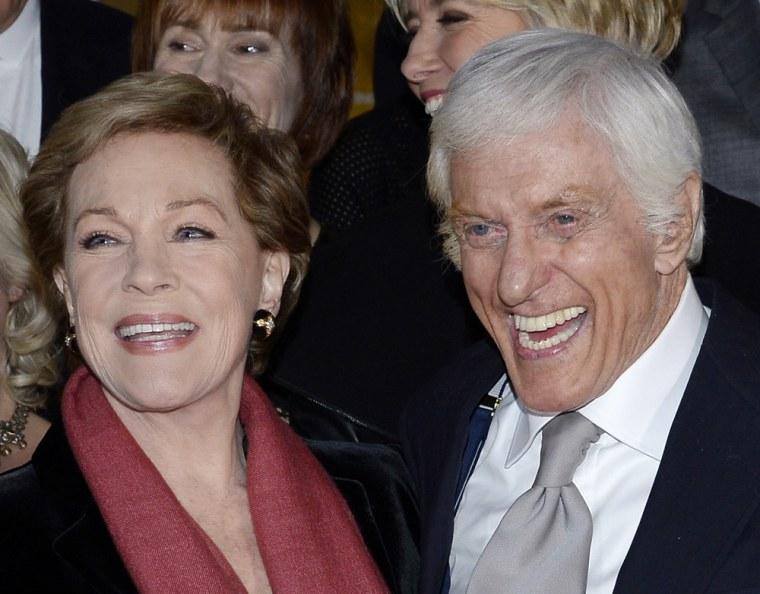 IMAGE: Julie Andrews and Dick Van Dyke