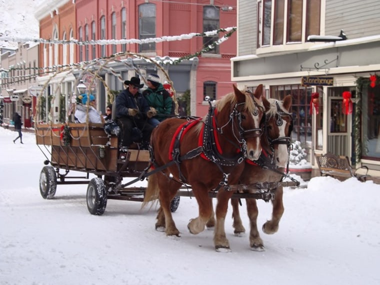 Georgetown Christmas Market, Colo.