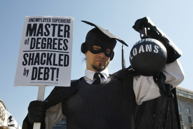 Students from families in which income group have the highest levels of student debt? You'd be surprised.