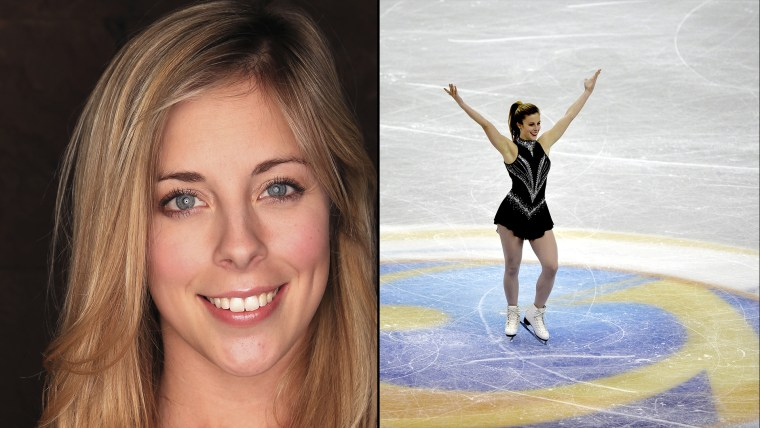 U.S. figure skater Ashley Wagner
