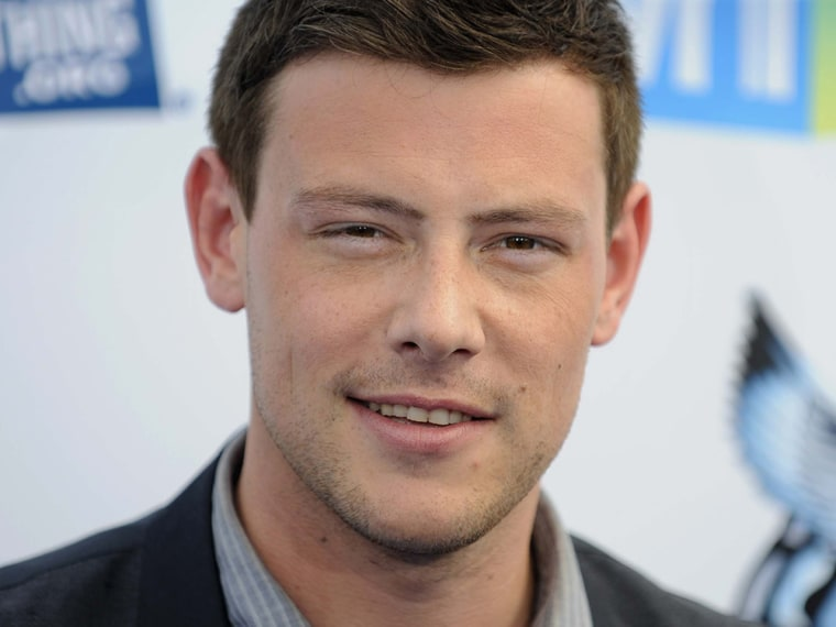 """Actor Cory Monteith arrives at the """"Do Something Awards"""" in Santa Monica, California in this August 19, 2012 file photo. """"Glee"""" star Cory Monteith was..."""