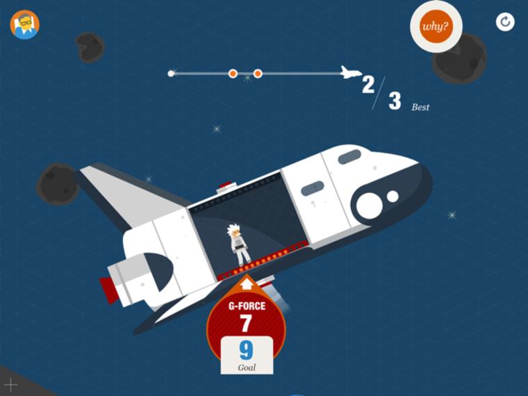 IMAGE: Stephen Hawking iPad app