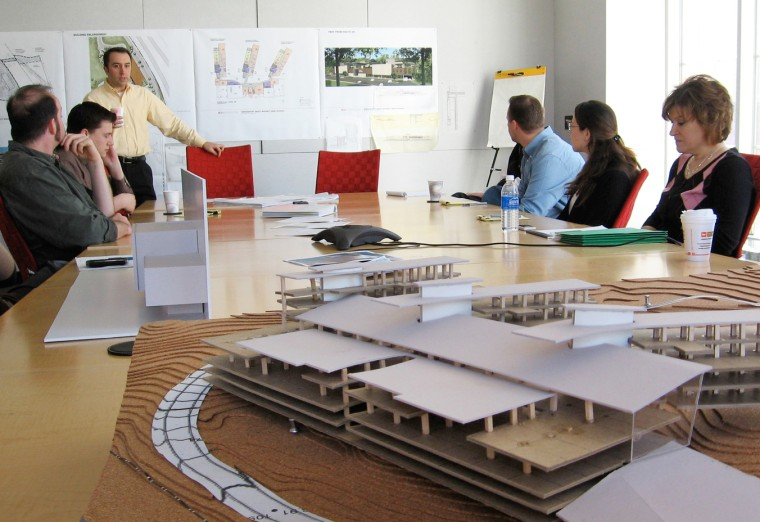 conference room at JCJ Architecture. The firm became fully owned by its employees this year.