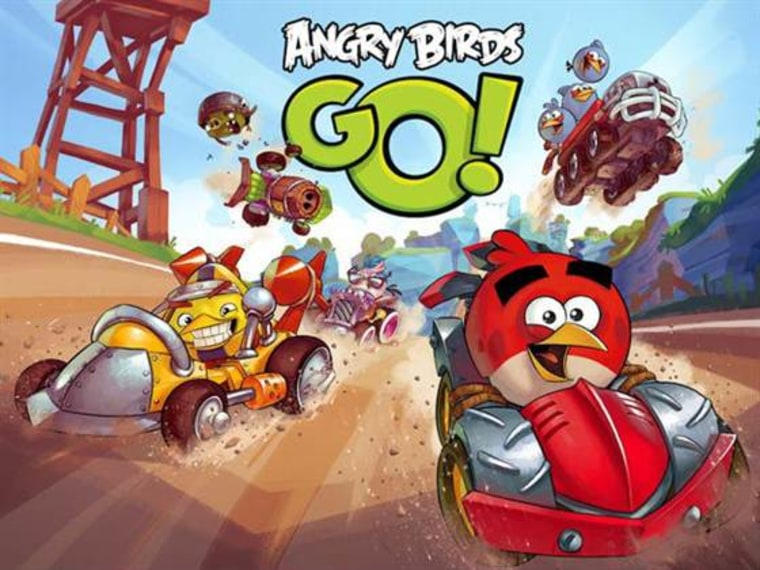 """Angry Birds Go!"" brings Rovio's iconic characters into the kart racing genre."