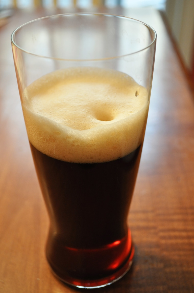 foamy beer concentrate