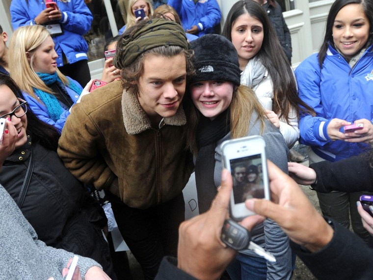 One Direction singer Harry Styles wanted to make sure his fans knew the court injunction against photographers was not about them.